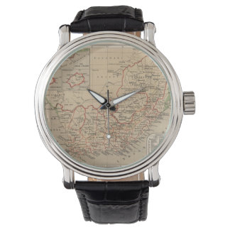 Vintage Map of South Africa (1880) Watch