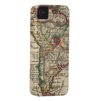 Vintage Map of South America 1747 iPhone 4 Case-Mate Case