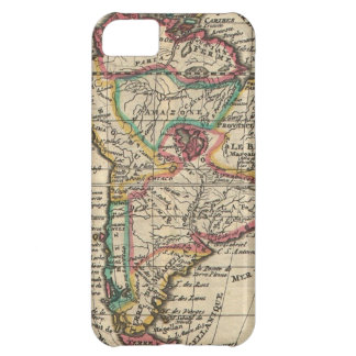 Vintage Map of South America (1747) iPhone 5C Cases