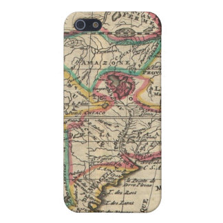 Vintage Map of South America (1747) iPhone 5 Case