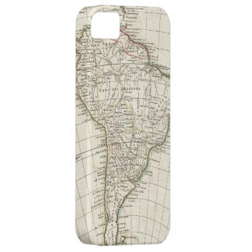 Vintage Map of South America (1762) iPhone 5 Cover