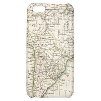 Vintage Map of South America 1762 iPhone 5C Cover