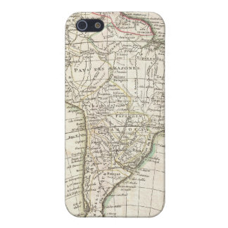 Vintage Map of South America (1762) Covers For iPhone 5