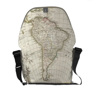 Vintage Map of South America 1762 Commuter Bag