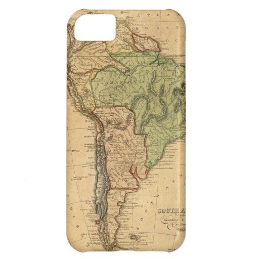 Vintage Map of South America (1821) Cover For iPhone 5C