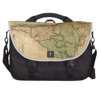 Vintage Map of South America 1821 Laptop Bags