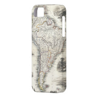 Vintage Map of South America (1850) iPhone 5 Covers