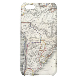 Vintage Map of South America 1850 iPhone 5C Covers