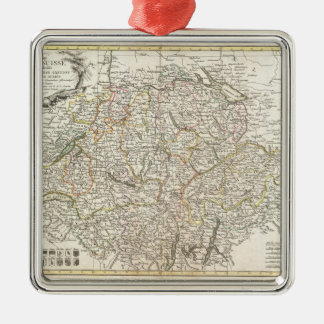 Vintage Map of Switzerland (1771) Christmas Ornament