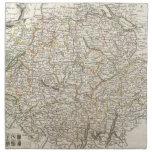 Vintage Map of Switzerland (1771) Cloth Napkins