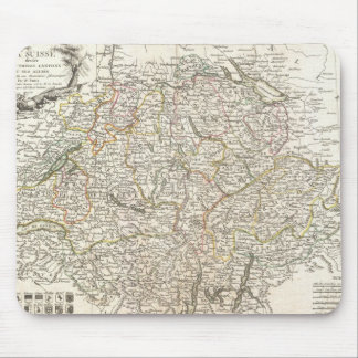 Vintage Map of Switzerland (1771) Mouse Pad