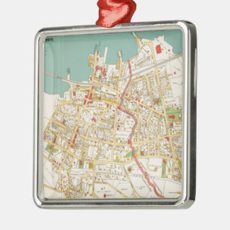 Vintage Map of Tarrytown New York (1893) Christmas Ornament