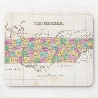 Vintage Map of Tennessee (1827) Mouse Mat
