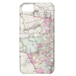 Vintage Map of Texas 1855 Case For iPhone 5C