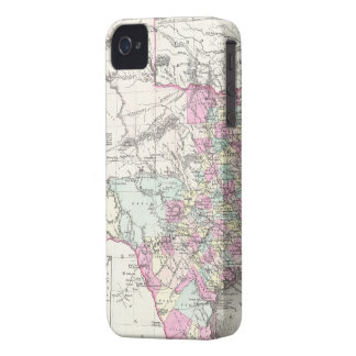Vintage Map of Texas 1855 iPhone 4 Case-Mate Case