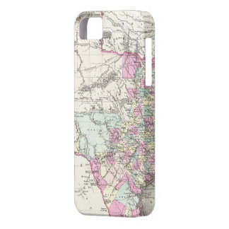Vintage Map of Texas 1855 iPhone 5 Cover