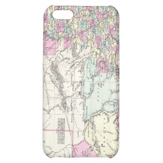 Vintage Map of Texas 1855 iPhone 5C Covers