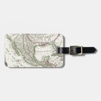 Vintage Map of Texas and Mexico Territories (1810) Luggage Tag