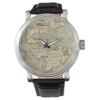 Vintage Map of The Americas (1540) Watch