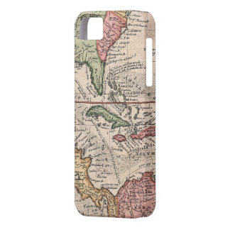 Vintage Map of The Caribbean (1732) iPhone 5 Cover
