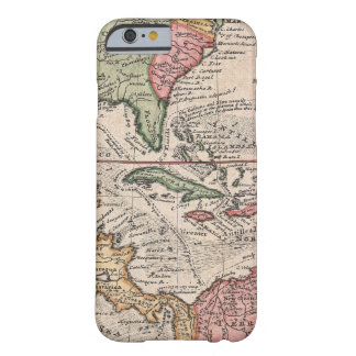 Vintage Map of The Caribbean 1732 iPhone 6 Case