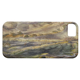 Vintage Map of The Gettysburg Battlefield (1863) iPhone 5 Covers