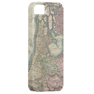 Vintage Map of The Netherlands (1799) Barely There iPhone 5 Case