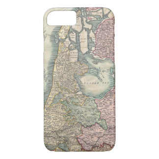 Vintage Map of The Netherlands (1799) iPhone 7 Case