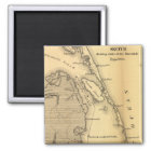 Vintage Map of The Outer Banks (1862) Magnet