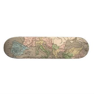 Vintage Map of The Roman Empire 1838 Skate Decks