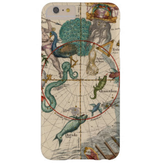 Vintage Map of the South Pole Barely There iPhone 6 Plus Case