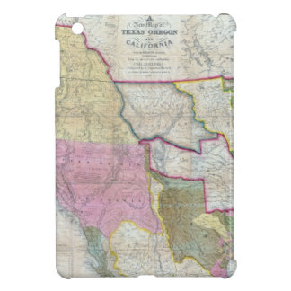 Vintage Map of The Western United States (1846) iPad Mini Covers