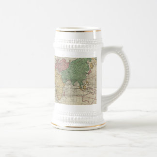 Vintage Map of The World 1744 Coffee Mugs