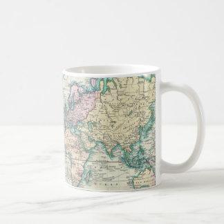 Vintage Map of The World (1801) Basic White Mug