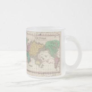 Vintage Map of The World (1827) Coffee Mug