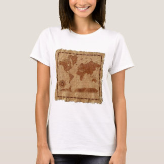 Vintage Map of the World T-Shirt