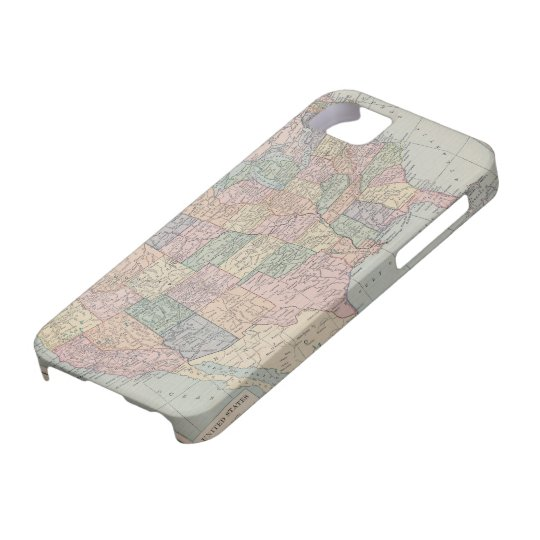 Vintage Map of United States iPhone 5 Covers