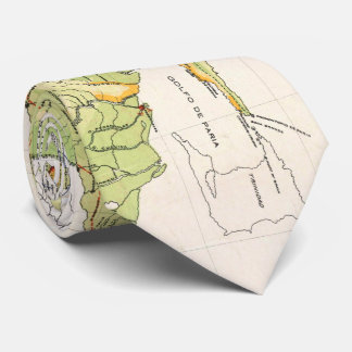 Vintage Map of Venezuela (1920) Tie