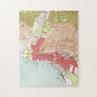 Vintage Map of Ventura California (1951) Jigsaw Puzzle