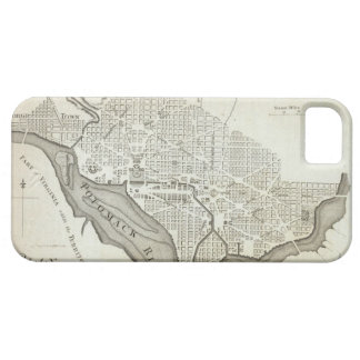 Vintage Map of Washington D.C. (1794) Case For The iPhone 5