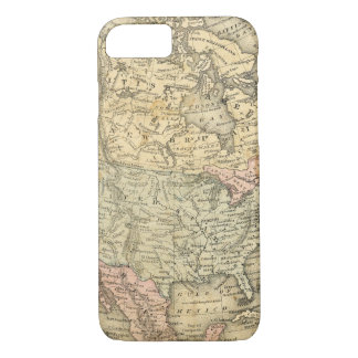 Vintage Map Print of North America iPhone 8/7 Case