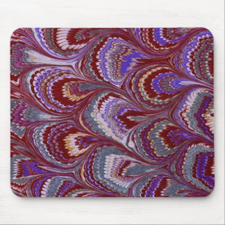 Vintage marbling mouse mat