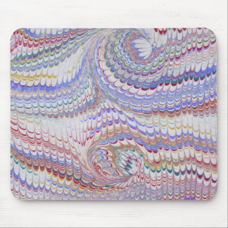 Vintage marbling mouse mat