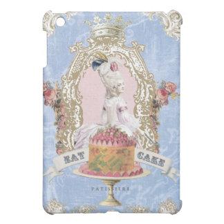 Vintage Marie Antoinette Eat Cake ipad mini case