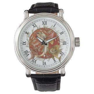 Vintage Marine Life, Japanese Flying Fish Wrist Watches