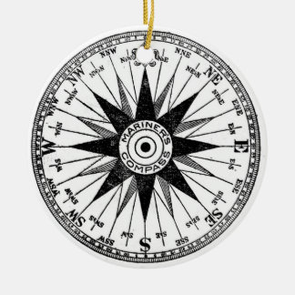 Vintage Mariner's Compass ornament