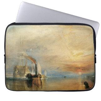 Vintage Maritime Art, Fighting Temeraire by Turner Laptop Sleeve