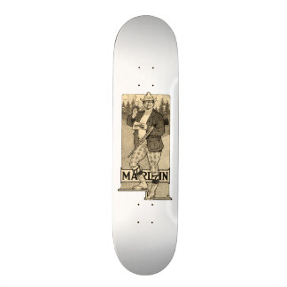 Vintage Marlin Guns Posh Gentlemen Skateboard Deck