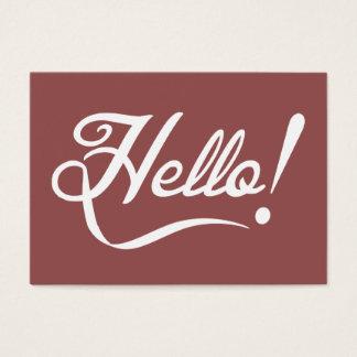 Vintage Marsala - Hello