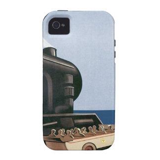 Vintage Marseille Cote D azur Case-Mate iPhone 4 Case